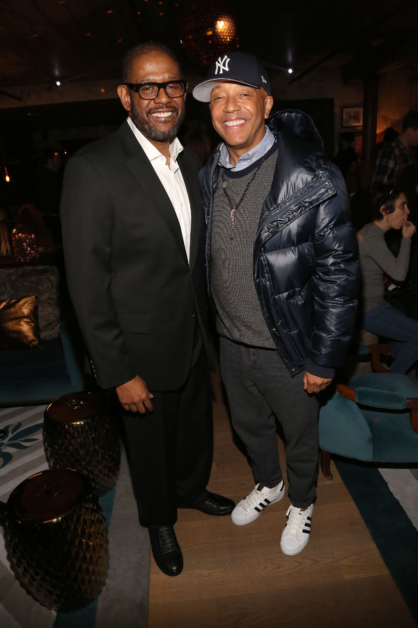 Forest Whitaker, Russell Simmons Photo