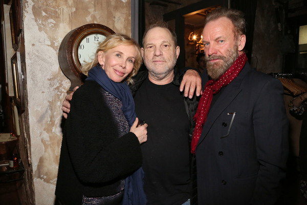 Trudie Styler, Harvey Weinstein, Sting