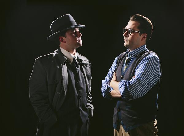 Isaac Reilly and John Jones Photo