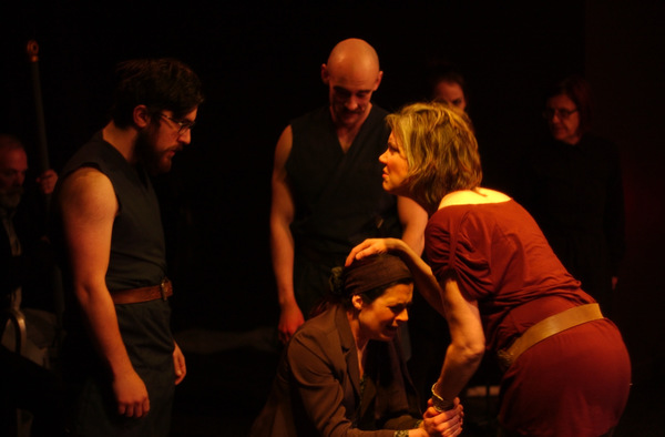 Photo Flash: First Look at TITUS ANDRONICUS at Burbage Theatre Company