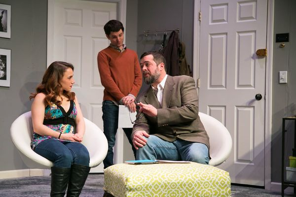 Reesa Roccapriore, Jim Dietter, and Kevin Sosbe as Leonard