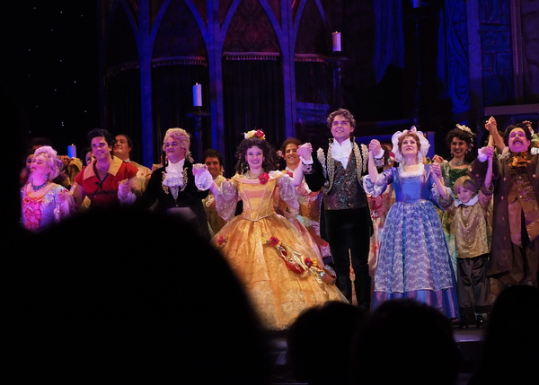 Photo Coverage: Curtain Call And Stage Door of 3-D Theatricals' BEAUTY AND THE BEAST At Plummer Auditorium