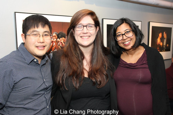 Kelly Miller, Michael Lew, and Rehana Lew Mirza