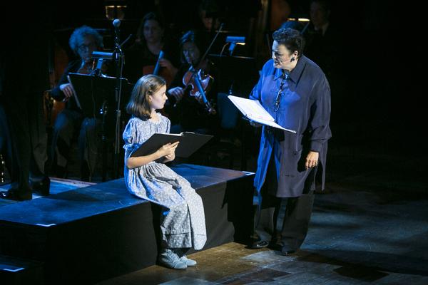 Sydney Lucas and Barbara Rosenblat Photo