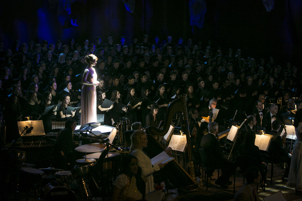 Hot Photos! First Look at the Starry THE SECRET GARDEN Concert at Lincoln Center!