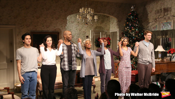 Photo Coverage: Vineyard Theatre's DOT Takes Opening Night Bows!