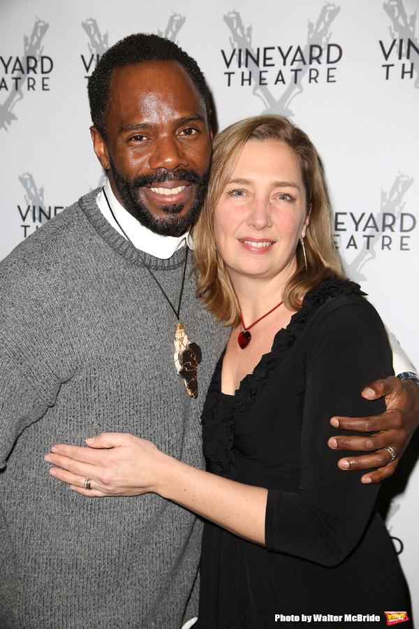 Colman Domingo and Jennifer Garvey-Blackwell
