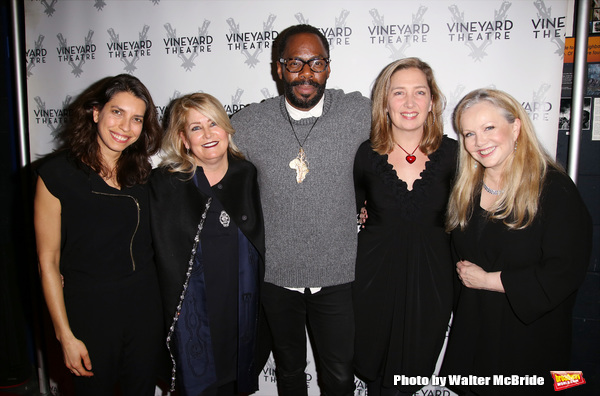 Sarah Stern, Paula Marie Black, Colman Domingo, Jennifer Garvey-Blackwell and Susan Stroman