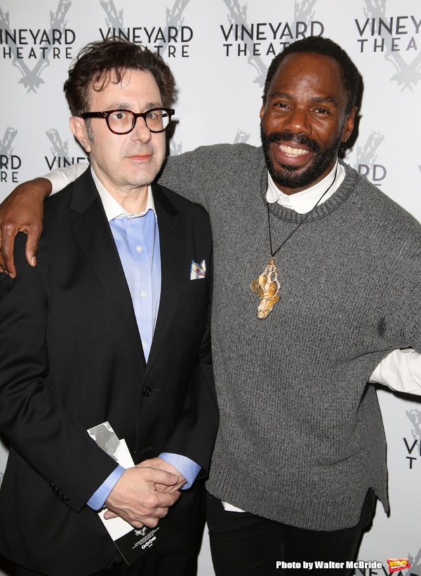 Nicky Silver and Colman Domingo