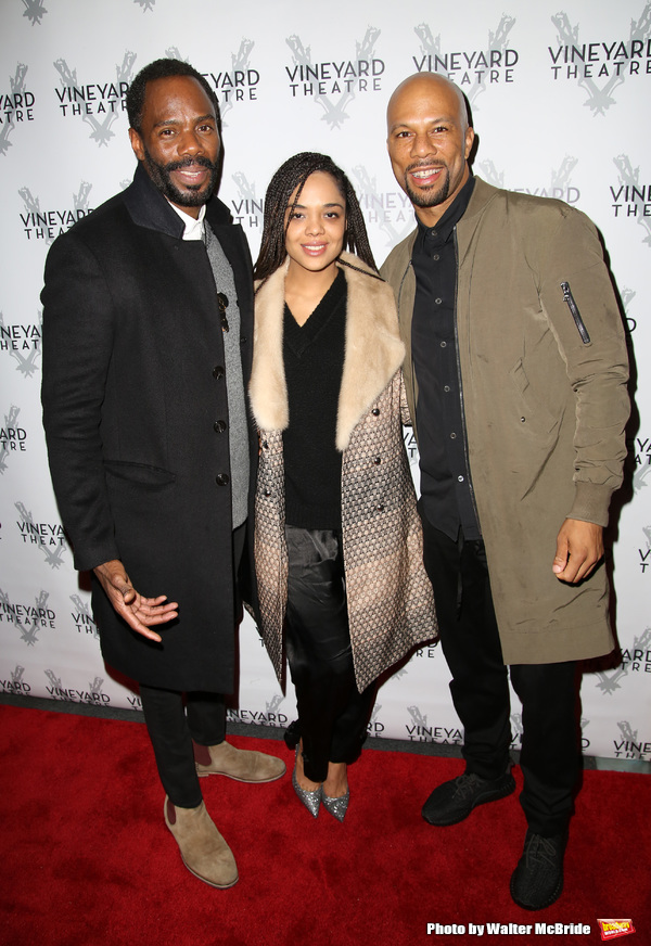 Colman Domingo, Tessa Thompson and Common