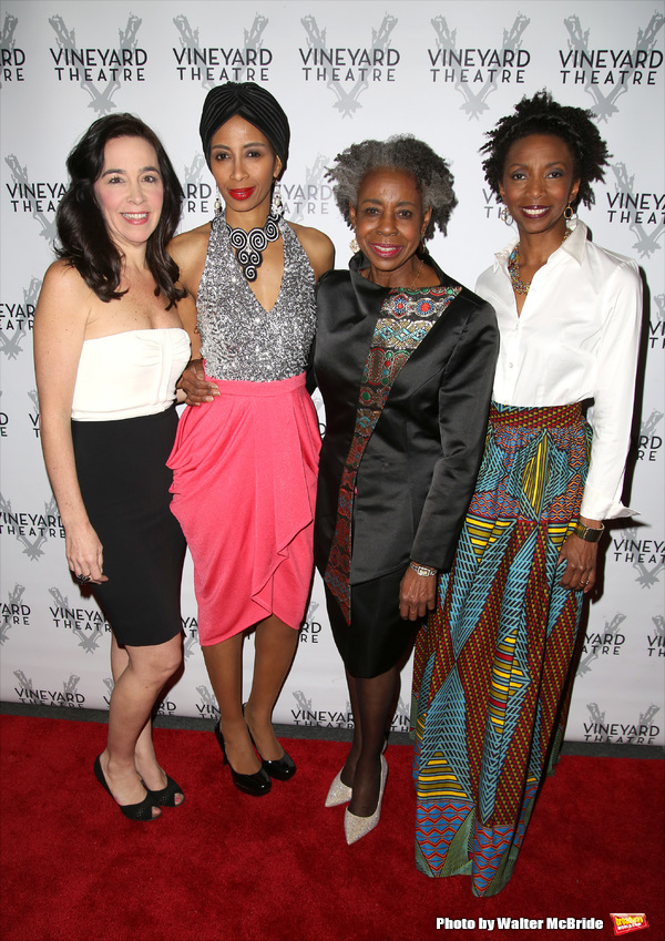 Finnerty Steeves, Libya V. Pugh, Marjorie Johnson and Sharon Washington Photo