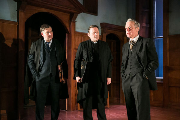 Simon Shakleton, Jeffrey Harmer and Stephen Boxer Photo