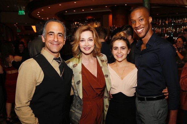 David Pittu, Sharon Lawrence, Mae Whitman and York Walker Photo