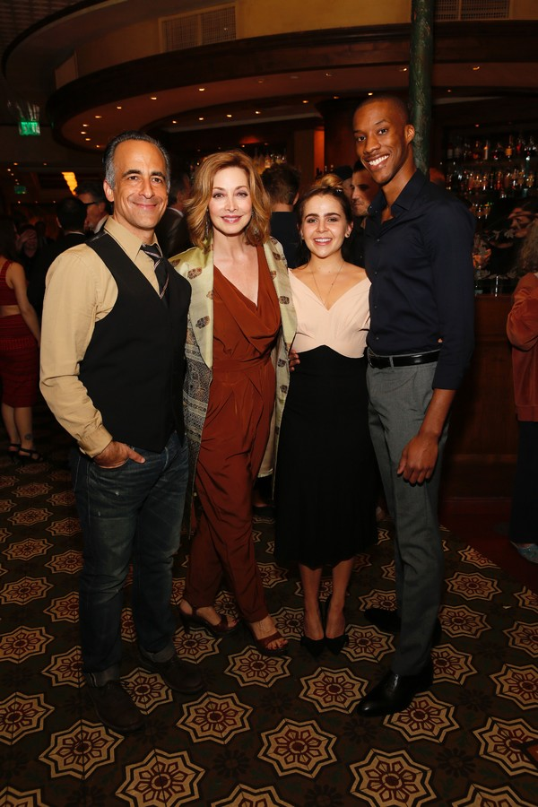 Cast members David Pittu, Sharon Lawrence, Mae Whitman and York Walker
