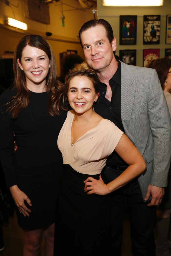 Actress Lauren Graham, cast member Mae Whitman and actor Peter Krause Photo
