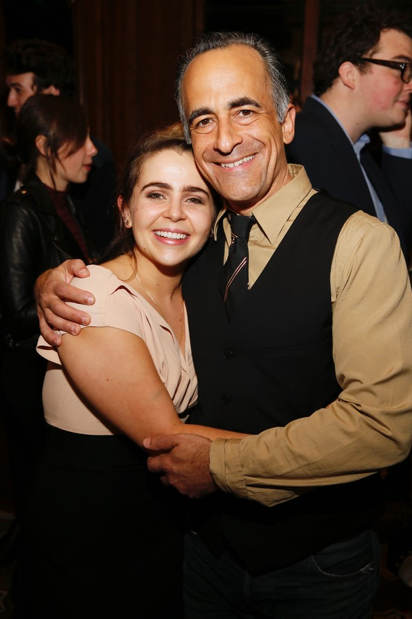 Mae Whitman and David Pittu