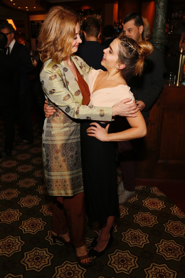 Cast members Sharon Lawrence and Mae Whitman