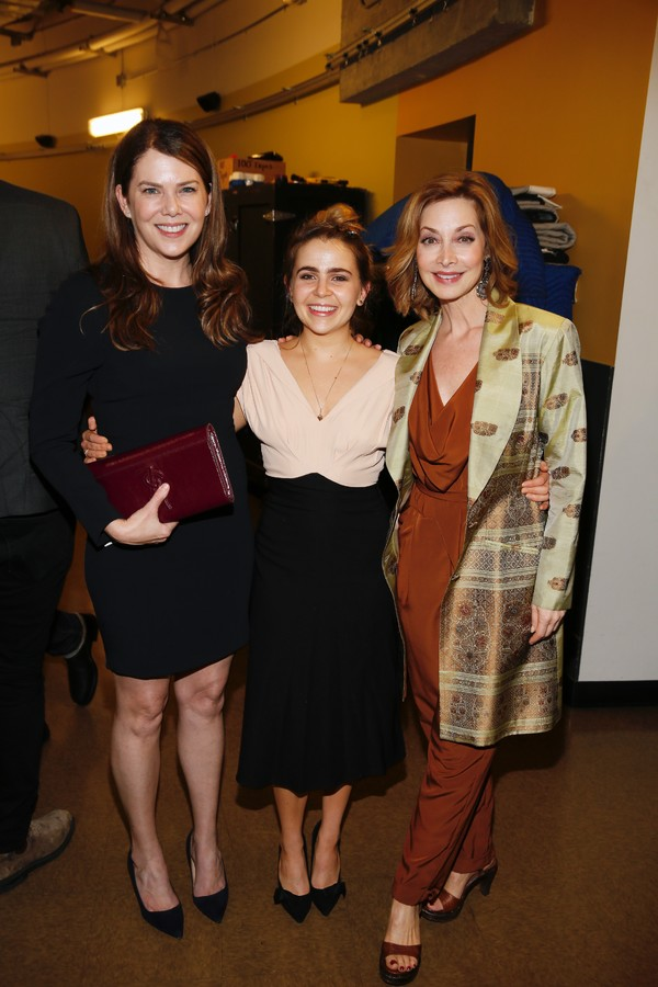 Actress Lauren Graham and Mae Whitman and Sharon Lawrence