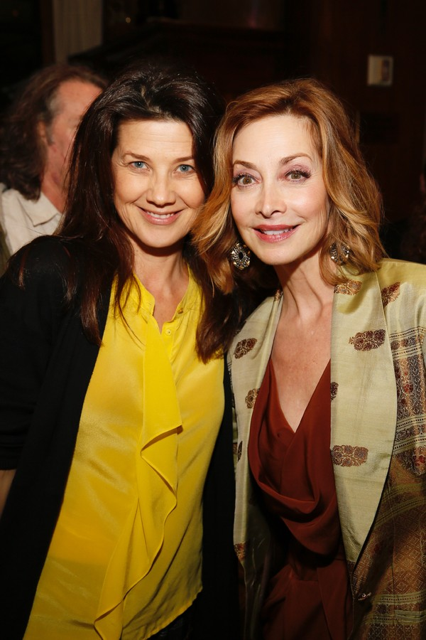 Actress Daphne Zuniga and cast member Sharon Lawrence