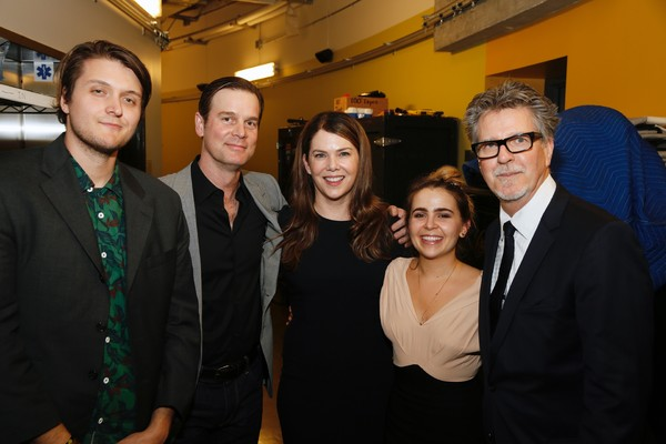 Charlie Brand, actor, Peter Krause, actress Lauren Graham, Mae Whitman and  Robert Egan