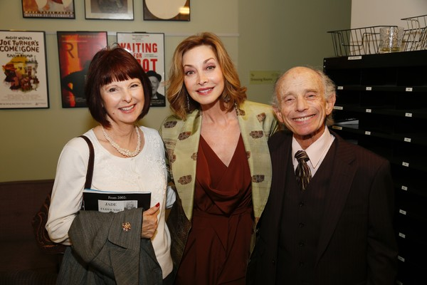 Paula Montgomery and Sharon Lawrence and Robert Towers