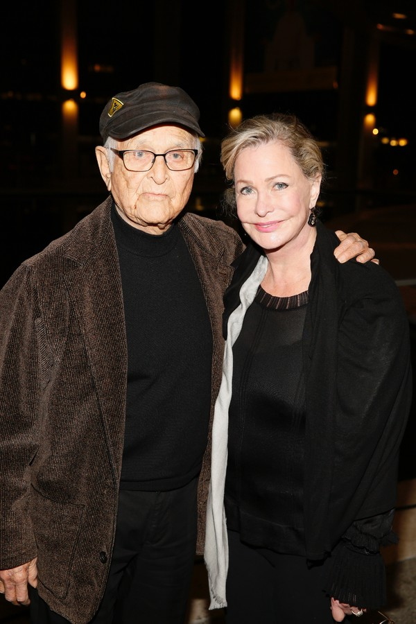 TV producer/writer Norman Lear and Lyn Lear