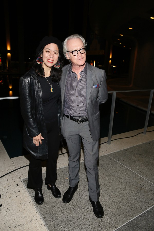 Actress/playwright Sandra Tsing Loh and producer Frier McCollister