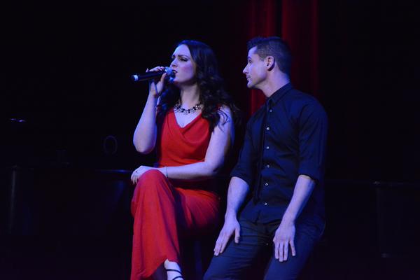 Philippa Lynas and Luke Hawkins