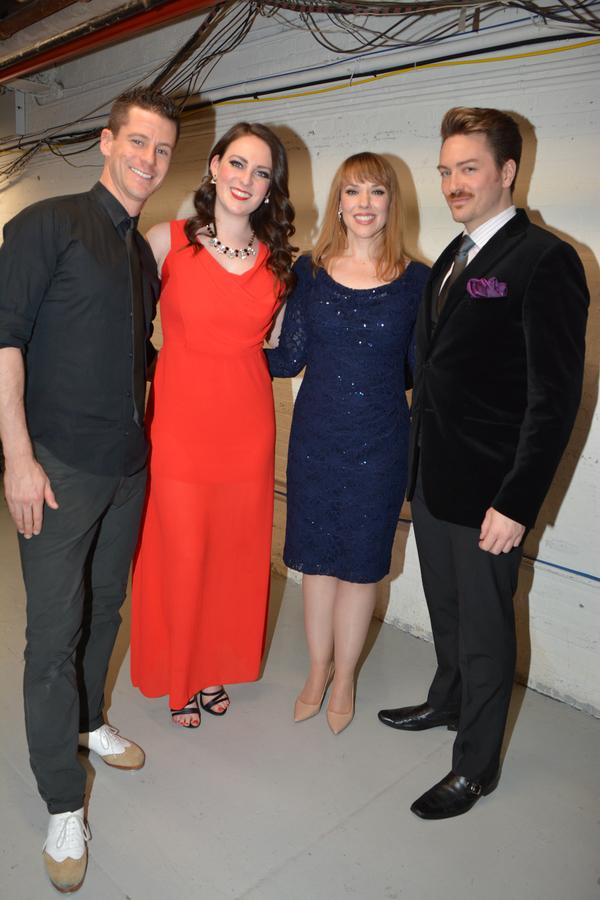 Luke Hawkins, Philippa Lynas, Emily Skinner and Brian Charles Rooney