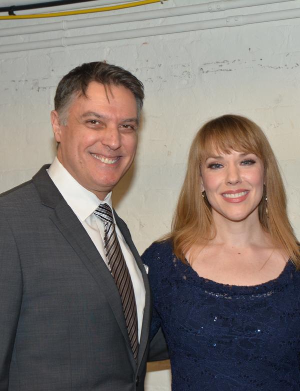 Robert Cuccioli and Emily Skinner