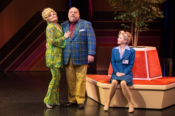 Disaster! Production Photo - Faith Prince, Kevin Chamberlin, Kerry Butler