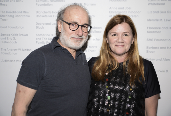 Peter Friedman and Mare Winningham