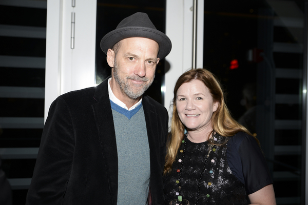 Anthony Edwards was in attendance to support longtime friend Mare Winningham.