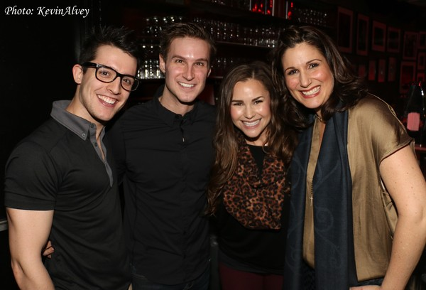 Clay Thompson, Christopher Rice, Morgan Mabry and Stephanie J. Block
