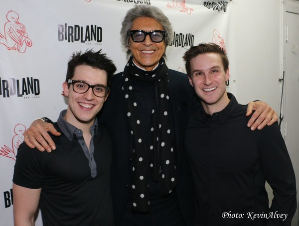Clay Thompson, Tommy Tune and Christopher Rice