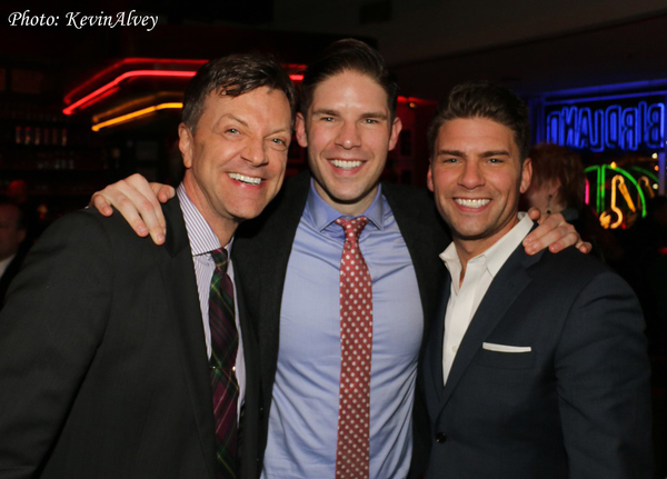 Jim Caruso, Frank DiLella and Chris DiLella Photo