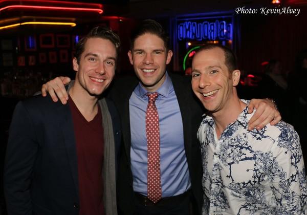 Nathan Madden, Frank DiLella and Charlie Alterman