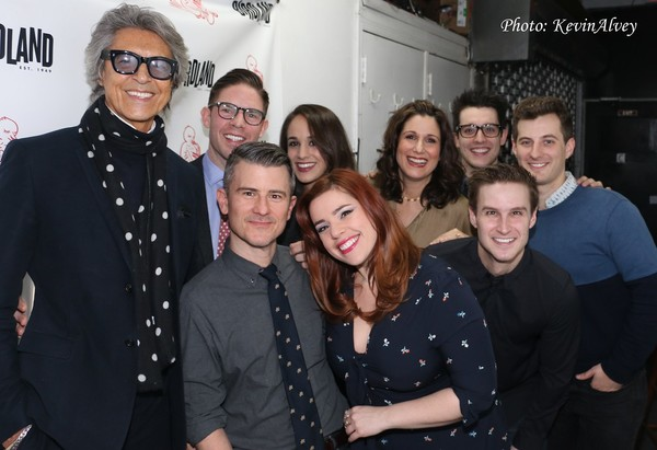 Tommy Tune, Frank DiLella, Randy Redd, Kalli Siringas, Alysha Umphress, Stephanie J. Block, Clay Thompson, Christopher Rice and Matt Dengler