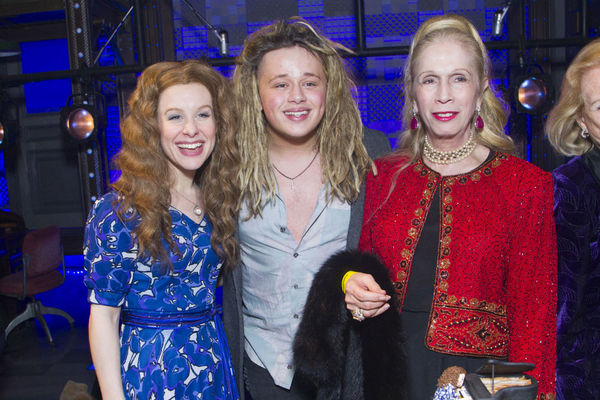 Cassidy Janson, Luke Friend and Lady Colin Campbell