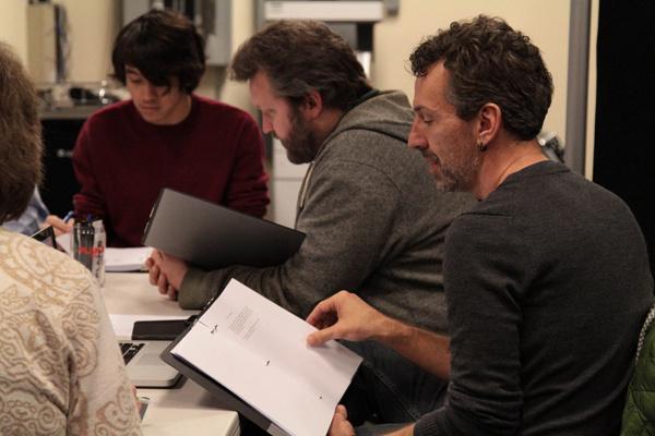 Dale Van Slyke (Brendon), Garney Johnson (Don) and Artistic , Bart Kuebler