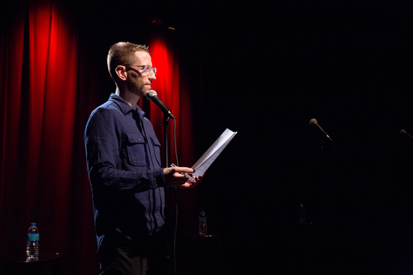 Photo Flash: First Look at New Comedy NEAL BRENNAN 3 MICS at Lynn Redgrave Theatre