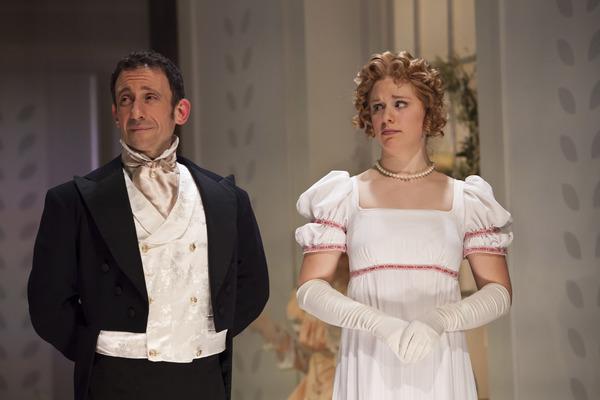 Jeremy Dubin as Mr. Knightley and Courtney Lucien as Emma