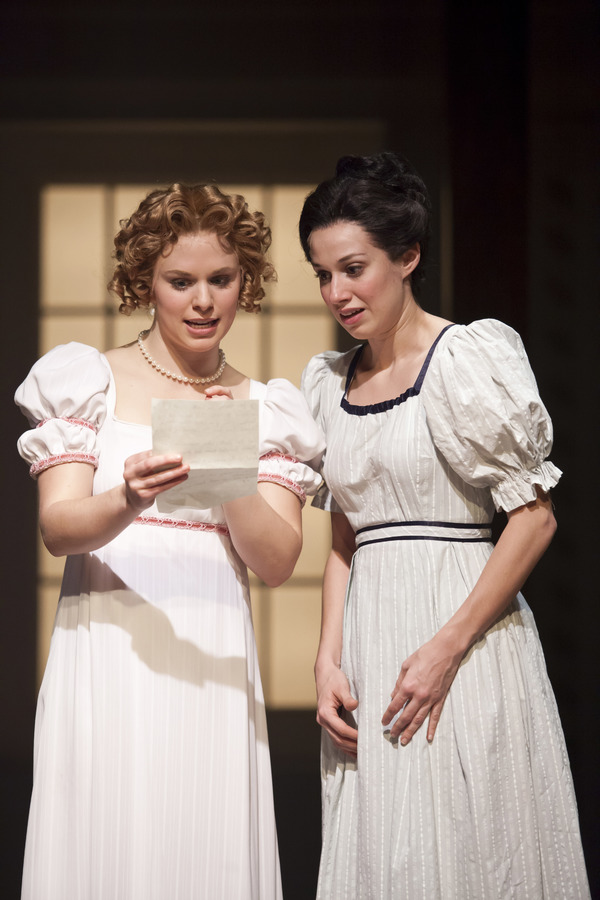 Courtney Lucien as Emma and Caitlin McWethy as Harriet  Photo