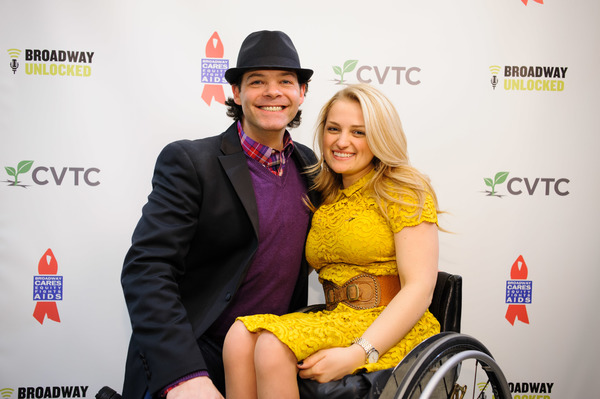 Bobby Cronin and Ali Stroker