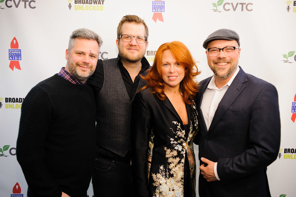 Chris Miller, Nils-Petter Ankarblom, Carolee Carmello and Nathan Tysen