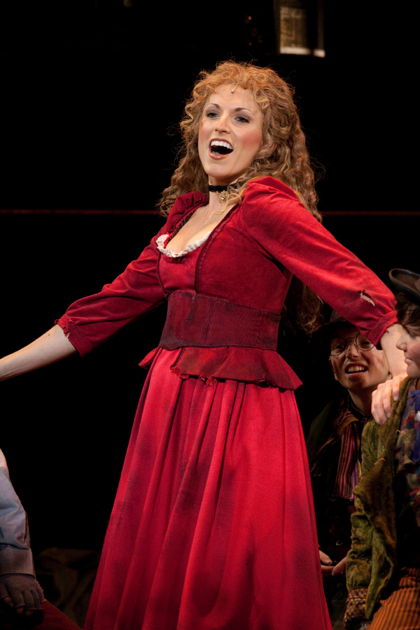 Janine Divita in the Walnut Street production of OLIVER!