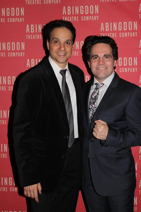 Ralph Macchio and Mario Cantone