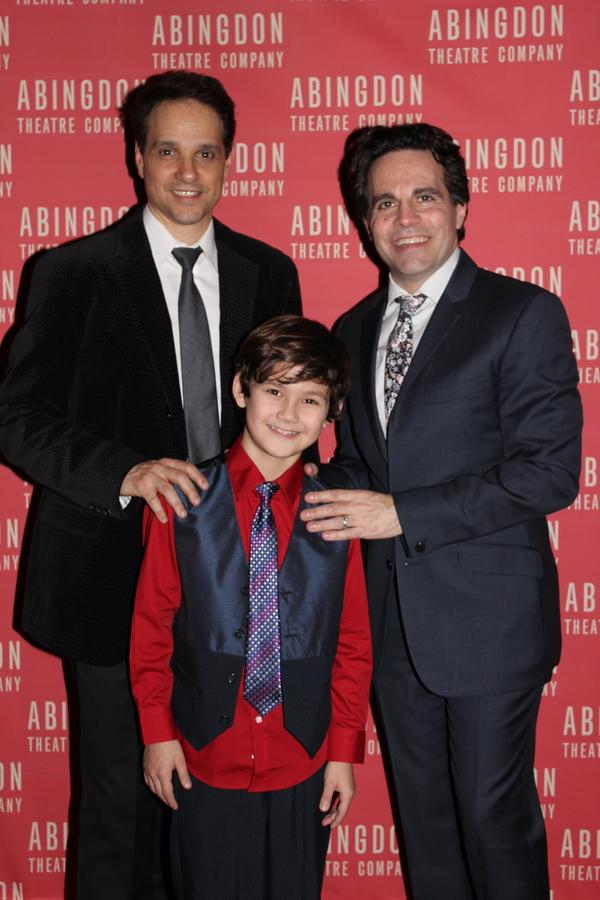 Ralph Macchio, Nico Bustamante and Mario Cantone Photo