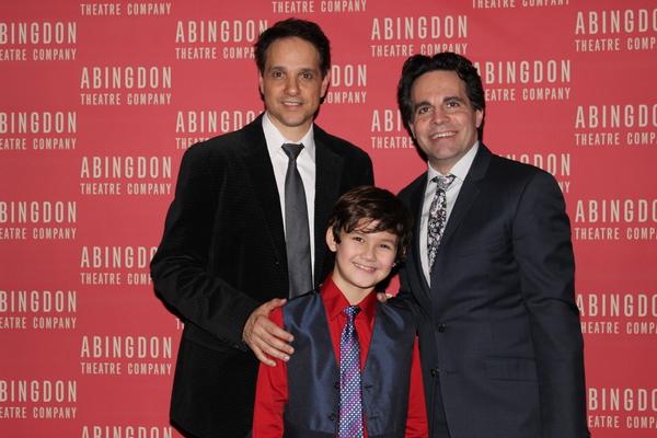 Ralph Macchio, Nico Bustamante and Mario Cantone