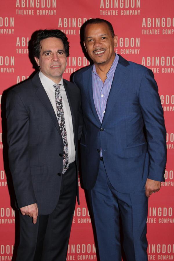 Mario Cantone and Jerry Dixon